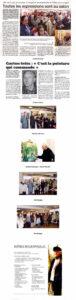 Palmarès : Grand prix du salon : Gaston INTES (peinture) Prix de l'AMOPA : Yves DUBREUCQ (photo) Prix de l'OLAC : Marie-Pierre ESTEVE (aquarelle) Prix Sennelier- Isabey : Isabelle LAURENT (acrylique) Prix de la Ville : Yves DUBREUCQ (photo) Prix Lefranc-Bourgeois : Michel DIVIT (huile) L'invité : Victor FELIOT Les partenaires : Ville de Lorient - AMOPA - OLAC - Lefranc-Bourgeois - Sennelier-Isabey