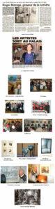 """Palmarès : 1er Prix de peinture : Arnaud Le Diringer 2ème prix de peinture : Catherine Mazé Prix de sculpture: Nadège Biraben Prix de photographie : Dominique Denuault Prix de gravure : Christine : Le Nezet Prix de la Ville : Jocelyne Lavollée Conférence-débat sur l'art de la gravure avec les graveurs : Roger MARAGE, Jean-Claude LE FLOCH, Maître PIGREE, Michel Lenormand, Jean-Yves DUBOIS, Serge KERVAREC L'invité: Roger MARAGE présente une rétrospective de 26 gravures réalisées entre 1952 et 2004. Ce professeur de dessin, ancien élève de Mathurin Méheut, de Cami et Goerg, promène ses crayons en Bretagne pour l'essentiel, mais aussi en Vendée, en Provence ou en Espagne. Maintes récompensé, ce """"prince de l'eau forte"""" """"s'éclate toujours.."""" Une trentaine de ses gravures et dessins figurent au musée de Le Faouet (56)."""