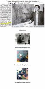 Palmarès : Grand prix Ville de Lorient : Yves RIO Grand prix du Salon : Ramon HESS (sculpture) Prix huile-acrylique : Marc BOUTEAU prix peinture à l'eau : Yon MORELLEC Prix pastel : Chantal GOUESBET Prix de dessin-gravure : Robert DANJOUX