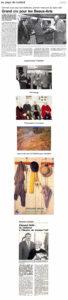 Palmarès : Prix du salon : Hélène PERROT Prix du millénaire : Annick ROY Prix de peinture : Dominique HAAB-CAMON Prix de technique mixte : Ingrid RAASCH Prix de l'acrylique : Viviane LAVENANT Prix de gravure : M. CHAUVELON Prix de sculpture : PESLOUAN Prix de l'OLAC : Jean-Pierre RESCAN Grand Prix de la Ville : Valérie LE BLEVEC L'invité : Jean LE GUEN, peintre et graveur, sociétaire de nombreux grands salons, et maintes fois primé. D'origine lorientaise, il habite la région parisienne. Il a été l'ami de JOUBIOUX et HENRY. Le salon accueille 20 toiles de ce peintre de l'air, de l'eau et de la terre. Hommage rendu à Edouard HELIN, artiste et ancien pilier de la SLBA.